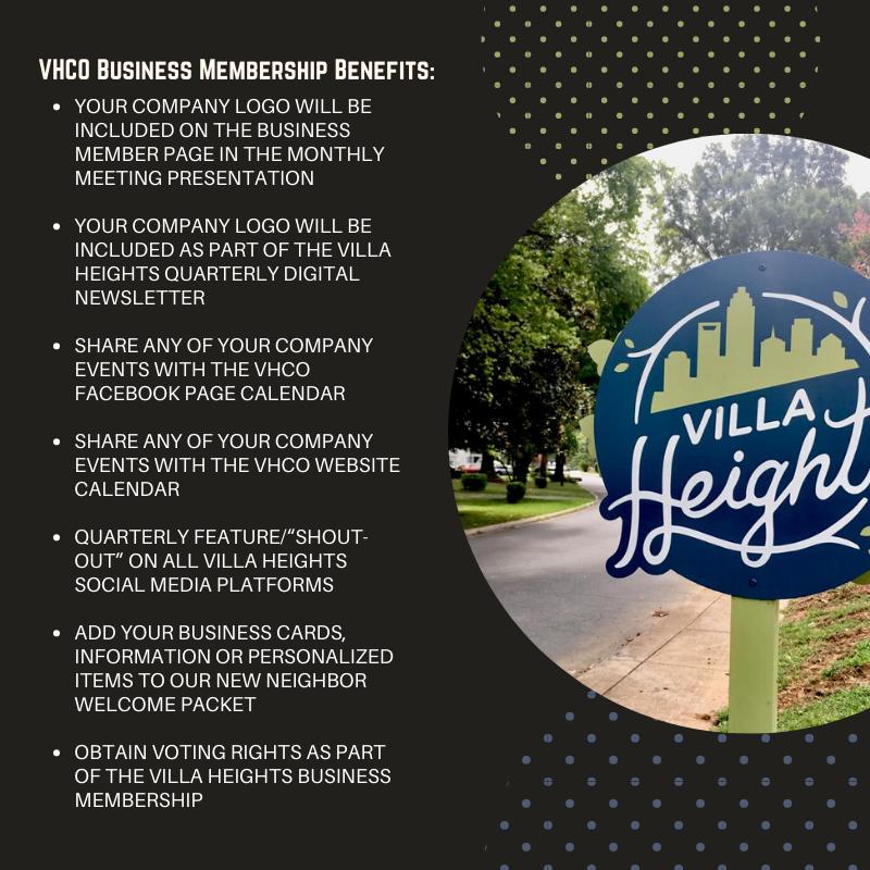 VHCO Business Membership Overview Social Media